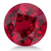 Round Shape Natural Ruby Gemstone 6mm (1.05 ct)