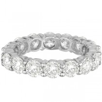 Diamond Eternity Ring Wedding Band Palladium (4.00ct)