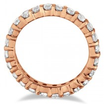 Diamond Eternity Ring Wedding Band 14k Rose Gold (3.00ct)