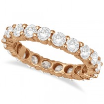 Diamond Eternity Ring Wedding Band 18k Rose Gold (3.00ct)