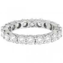 Diamond Eternity Ring Wedding Band 18k White Gold (3.00ct)|escape