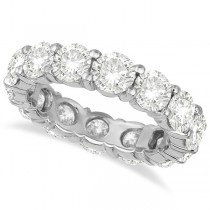 Diamond Eternity Ring Wedding Band 18k White Gold (6.00ct)