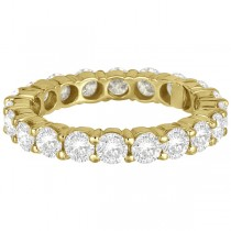 Diamond Eternity Ring Wedding Band 18k Yellow Gold (3.00ct)