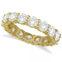 Diamond Eternity Ring Wedding Band 18k Yellow Gold (4.00ct)