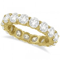 Diamond Eternity Ring Wedding Band 18k Yellow Gold (5.00ct)