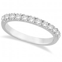 Diamond Stackable Ring Anniversary Band in 14k White Gold (0.25ct)
