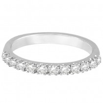 Diamond Stackable Ring Anniversary Band in 14k White Gold (0.25ct)|escape