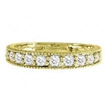 Diamond Anniversary Ring 14k Yellow Gold (0.55 ctw)|escape