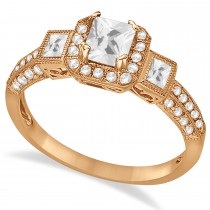 Diamond Engagement Ring in 14k Rose Gold (1.35ctw)