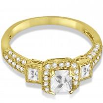 Diamond Engagement Ring in 14k Yellow Gold (1.35ctw)