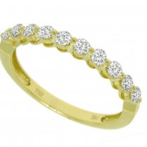 0.47ct 14k Yellow Gold Diamond Lady's Band