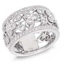 1.43ct 14k White Gold Diamond Lady's Ring