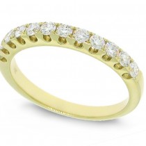 0.50ct 14k Yellow Gold Diamond Lady's Band
