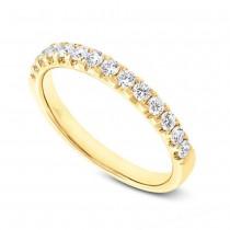 0.50ct 14k Yellow Gold Diamond Lady's Band