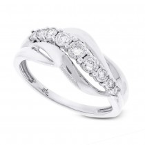 0.21ct 14k White Gold Diamond Lady's Ring