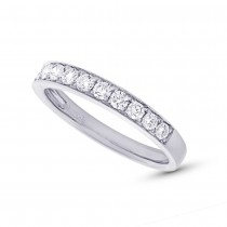 0.43ct 14k White Gold Diamond Lady's Band