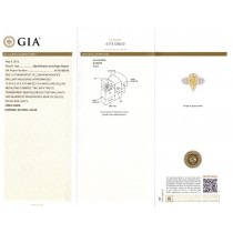 2.24ct Pear Shape Center and 1.60ct Side 18k Two-tone Gold GIA Certified Natural Yellow Diamond Ring