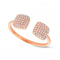 0.25ct 14k Rose Gold Diamond Lady's Ring