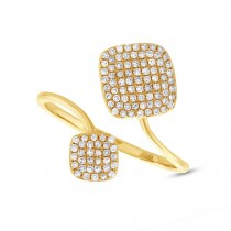 0.31ct 14k Yellow Gold Diamond Lady's Ring