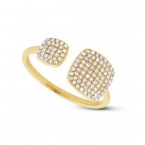 0.31ct 14k Yellow Gold Diamond Lady's Ring