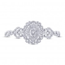 6.00ct 18k White Gold Diamond Lady's Bracelet