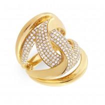 1.15ct 14k Yellow Gold Diamond Lady's Ring