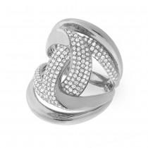 1.15ct 14k White Gold Diamond Lady's Ring