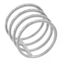 0.37ct 14k White Gold Diamond Lady's Ring