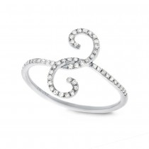 0.16ct 14k White Gold Diamond Lady's Ring