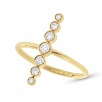 0.26ct 14k Yellow Gold Diamond Lady's Ring