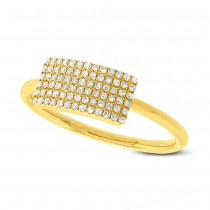 0.21ct 14k Yellow Gold Diamond Lady's Ring
