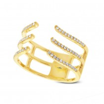 0.20ct 14k Yellow Gold Diamond Lady's Ring