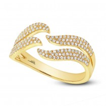 0.35ct 14k Yellow Gold Diamond Lady's Ring