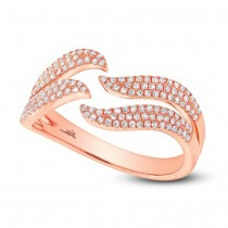 0.35ct 14k Rose Gold Diamond Lady's Ring