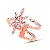0.26ct 14k Rose Gold Diamond Lady's Ring