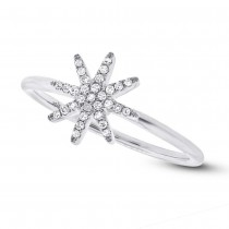 0.10ct 14k White Gold Diamond Lady's Ring