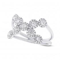 0.69ct 14k White Gold Diamond Lady's Ring