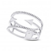 0.15ct 14k White Gold Diamond Lady's Ring