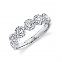0.70ct 14k White Gold Diamond Lady's Ring