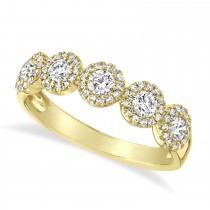0.70ct 14k Yellow Gold Diamond Lady's Ring