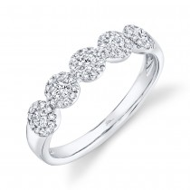0.40ct 14k White Gold Diamond Lady's Ring