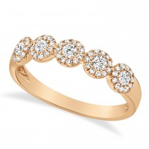 0.40ct 14k Rose Gold Diamond Lady's Ring