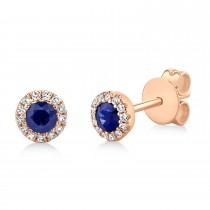 0.20ct Diamond & 0.66ct Ruby 14k Yellow Gold Ring