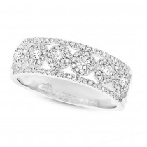 0.66ct 14k White Gold Diamond Lady's Ring