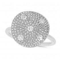 0.68ct 14k White Gold Diamond Lady's Ring