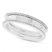 0.23ct 14k White Gold Diamond Lady's Ring