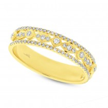0.33ct 14k Yellow Gold Diamond Lady's Ring