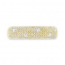 0.63ct 14k Yellow Gold Diamond Lady's Ring