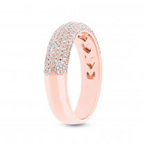 0.63ct 14k Rose Gold Diamond Lady's Ring