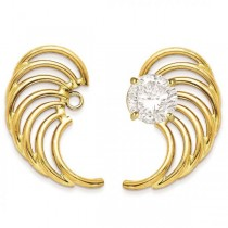 Angle Wing Shaped Earring Jackets